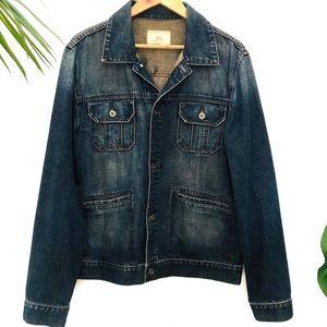 Vintage Jag Mens denim Jacket Size L